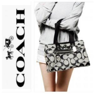 Coach Daisy Signature Large Tote No. D1193-F14878